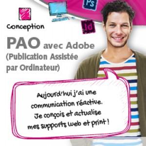 Accéder à la formation PAO sur Adobe