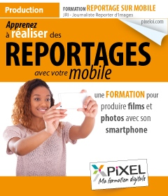 Formation Reporter Mobile Smartphone iPhone