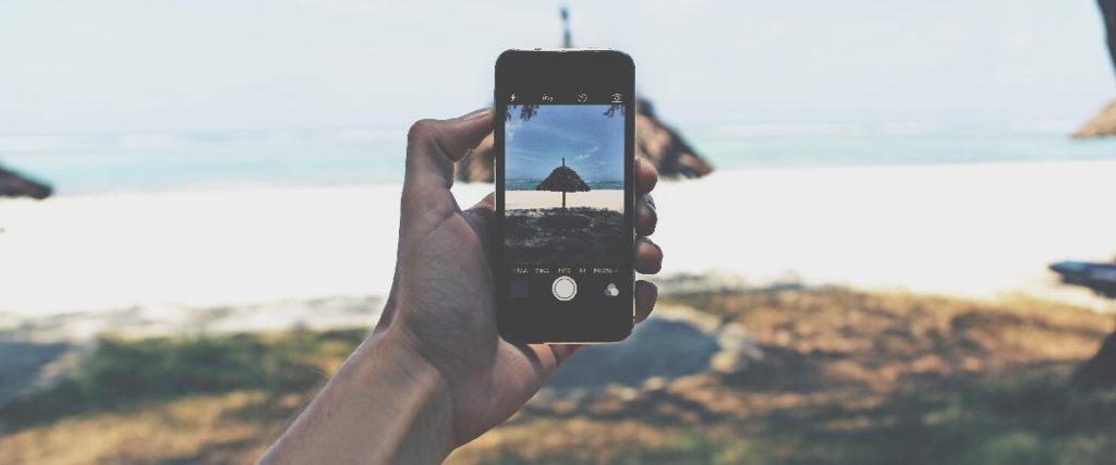 zoom avec un téléphone mobile