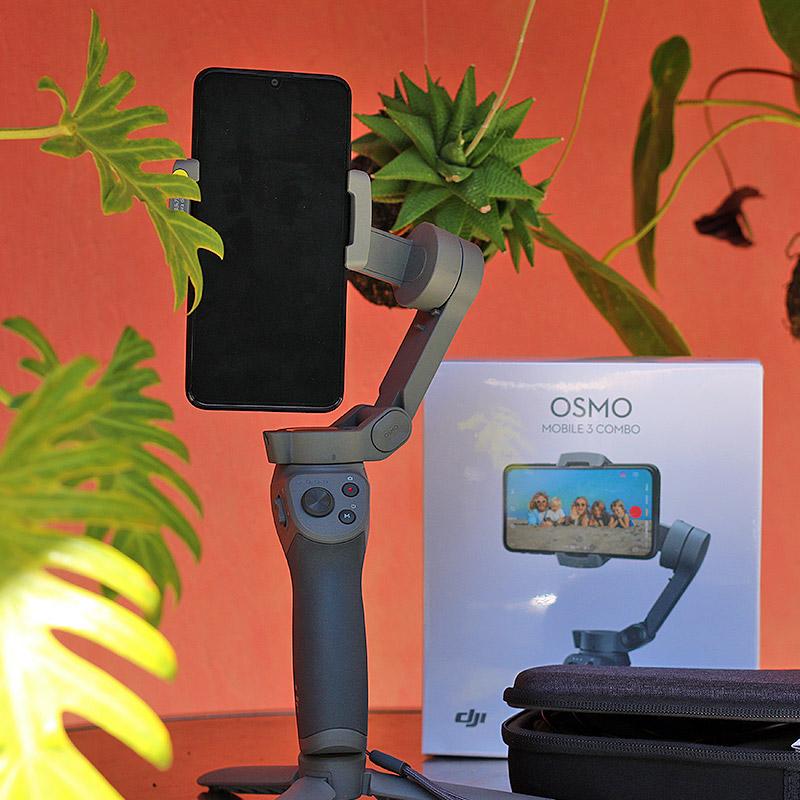 Osmo Mobile à La Réunion
