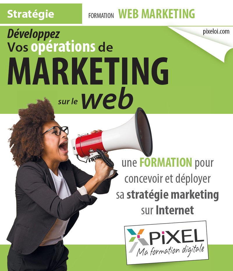 Formation Actions Web marketing sur le web