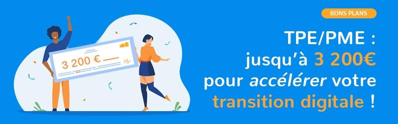 [BONS PLANS !] TPE/PME, bénéficiez du chèque numérique pour financer la transition digitale de votre entreprise !
