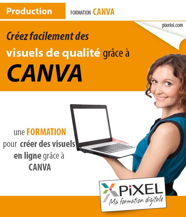 Formation création graphique avec Canva