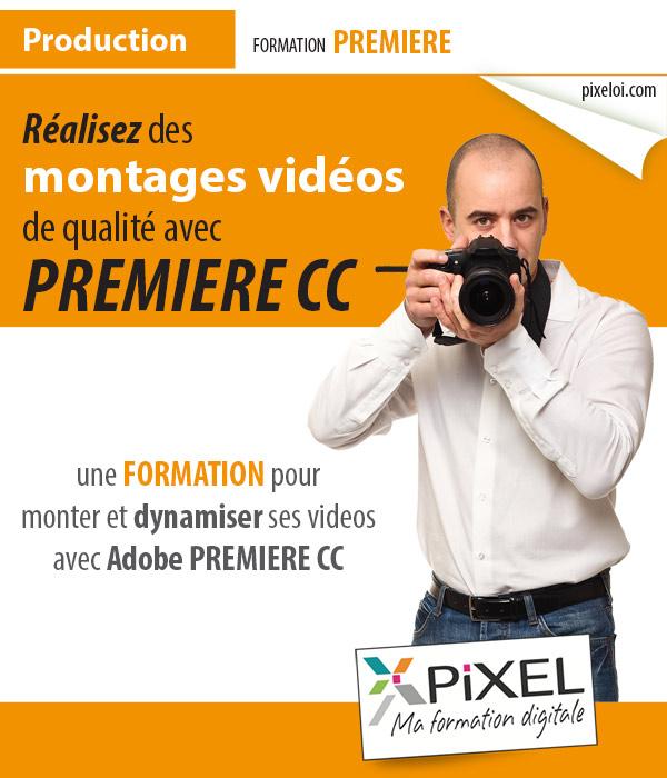 Formation montage de vidéo avec Premiere à la Réunion