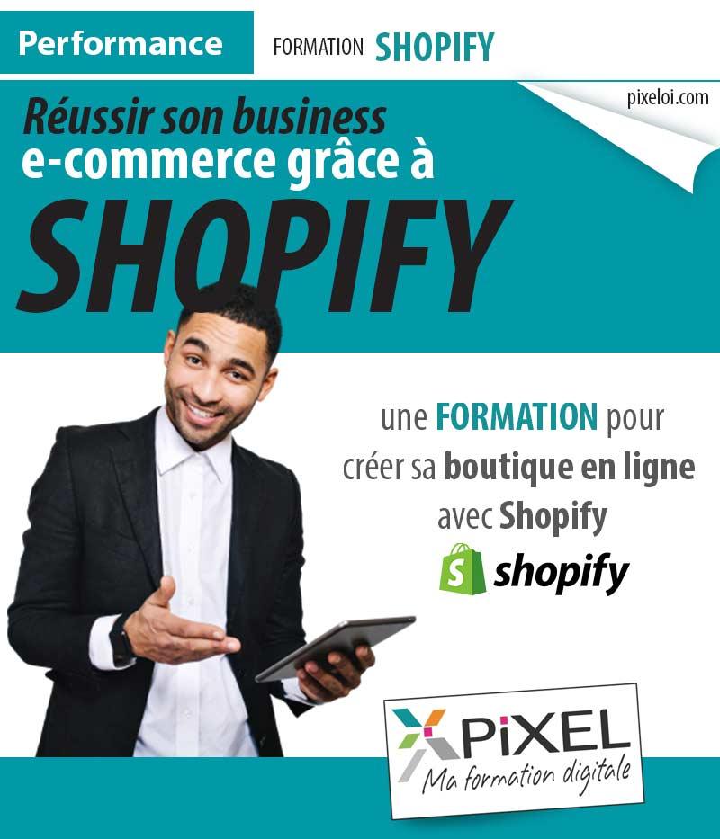 Formation shopify à la Réunion
