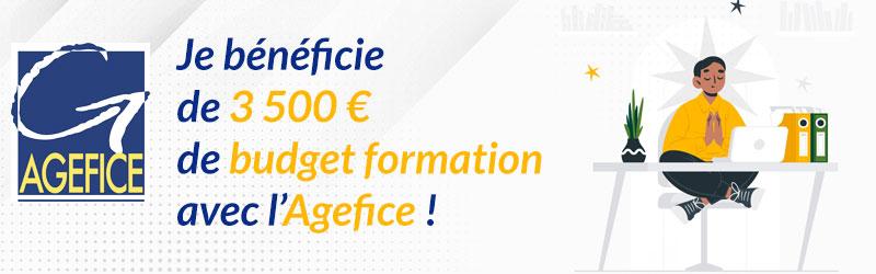 Gérant d'entreprise, vous aussi avez droit à la formation ! Jusqu'à 3500€ avec l'Agefice !