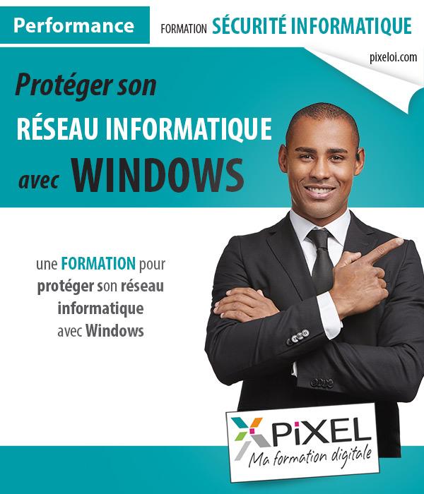 Formation sécurité informatique Windows
