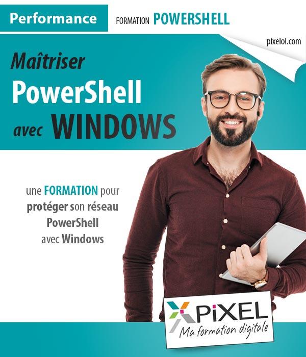 Formation Powershell avec Windows à la Réunion