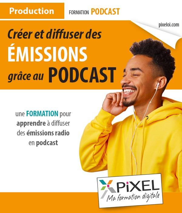 Formation émission radio podcast